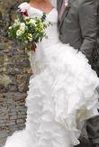 Robe de mariée Pronovias - modèle Fauna – taille 36 - Occasion du Mariage