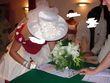 Chapeau blanc avec voile - Occasion du Mariage