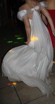 Robe de mariée empire du créateur David Fielden
