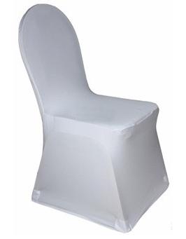Housse de chaise lycra universelle x 2 rhin bas - Housse chaise mariage occasion ...
