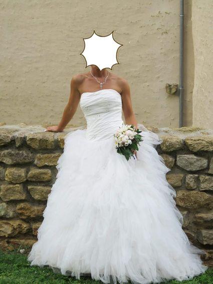 Robe de mariée illi tulle  - Indre