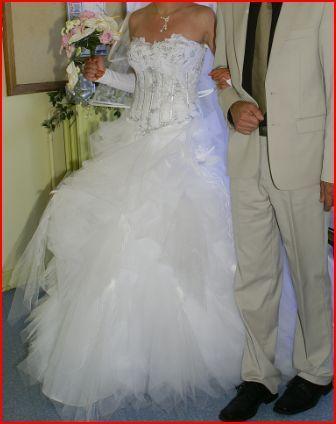 Robe de mariée d'occasion Hervé Mariage T38/40