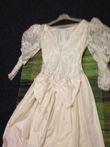 Robe de Mariée  ecru  dentelle et soie  - Occasion du Mariage