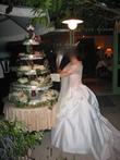 Robe de mariée ivoire et rose poudre - Occasion du Mariage