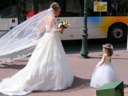 magasin d'usine 29071 8ccdd Robe de princesse 2 ans réplique de ma robe de mariée pronvi à  Plan-de-Cuques