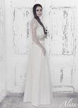 Keira Robe de mariée creation Alisa  neuve en soie à Nice - Alpes Maritimes
