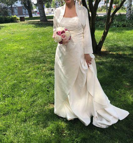 Robe de marié bustier taille 40  - Rhône