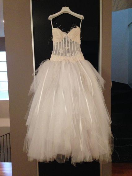 Magnifique robe de mariée Max Chaoul modèle Mirage d'occasion