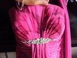 magnifique robe de ceremonie +chapeau+pochette - Occasion du Mariage