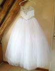 Magnifique robe de mariée avec cristaux - Occasion du Mariage
