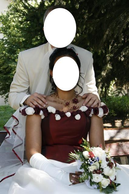 Robe de mariée Complicité avec accessoires d'occasion