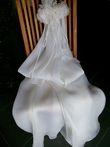 Robe de mariée avec jupon et crinoline vague 36/38 Pronuptia - Occasion du Mariage