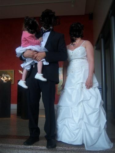 Robe de mariée bustier ivoire Style et Passion  - Occasion du Mariage