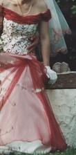 robe de mariée avec voile + cerceau + jupon - Occasion du Mariage