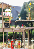 Chariot Candy bar - bois - Occasion du Mariage