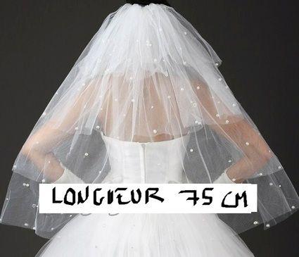 Magnifique Voile de mariée pas cher - Occasion du Mariage