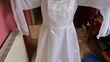 robe de mariée blanche T.56 avec jupon cerceaux - Occasion du Mariage