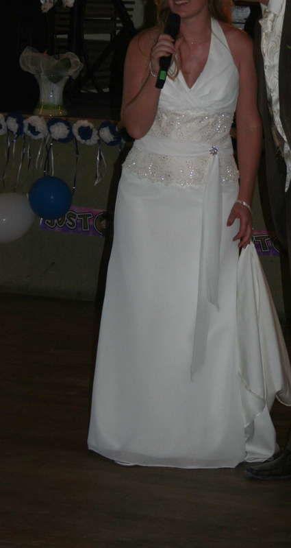 Robe de mariée Galeries lafayettes créateur Inn Love Taille 42
