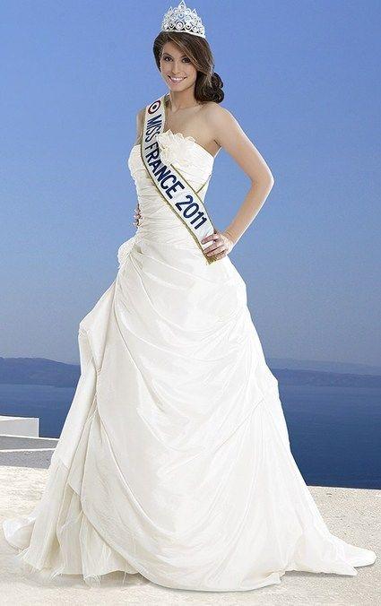 Robe de mariée Miss France Thilda à Lamarche-sur-Saône