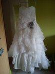 Robe de mariée Linea Raffaelli d'occasion avec étole