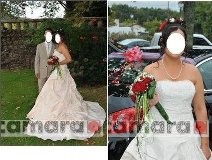 Robe de mariée pas cher Tommy Mariage Framboise 2012- Occasion du mariage
