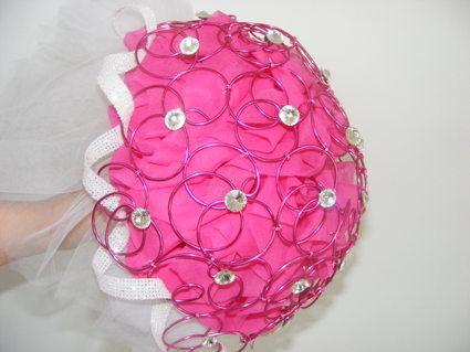 Bouquet de la mariée, décoration de voiture et centre de table