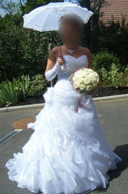 Robe de mariée blanche Miss Kelly modèle MK101-35 d'occasion