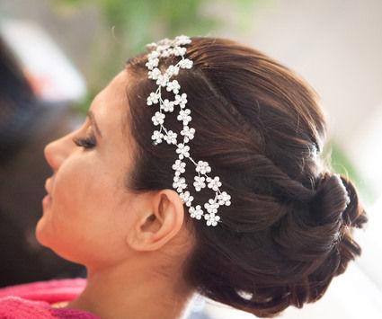 Diadème argenté pour mariée - Garonne (Haute)