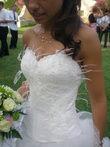 Robe de mariée Roman Hervé Mariage T34/36 d'occasion
