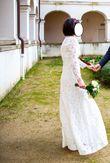 Robe de mariée longue dentelle - Occasion du Mariage