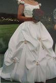 Robe de mariée - Taille 36 - Type SISSI  - Occasion du Mariage