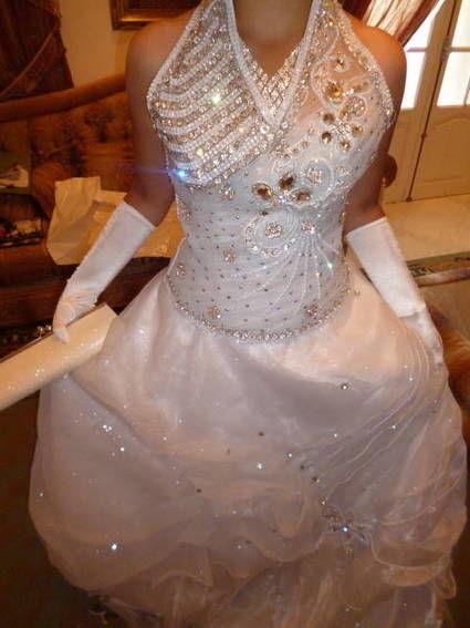 Robe de mariée avec 2 bustier différents à Marseille