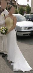 Robe mariée avec bustier d'occasion pas cher