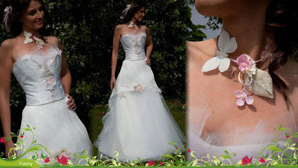 Elsa Gary modèle Fanny 2012 - Robe de mariée d'occasion