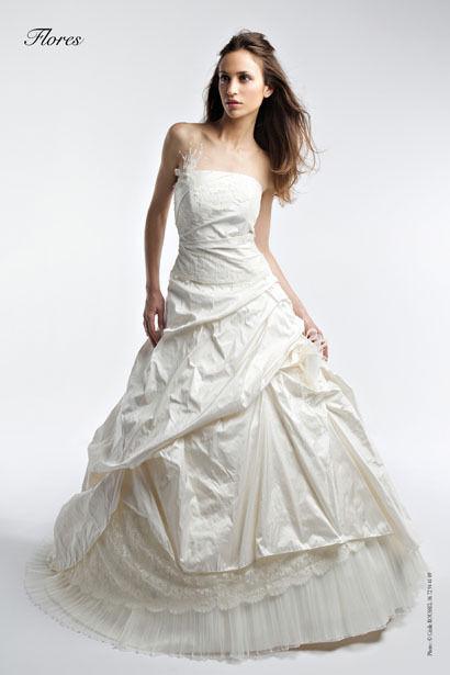 robe de mariée pas cher d'occasion avec jupe, boléro, jupon, voile - Occasion du Mariage