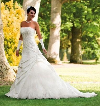 Robe de mariée d'occasion de chez Marions-Nous modèle Fontaine