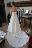 Robe bustier coeur avec drappé -Nuptialine - Occasion du Mariage