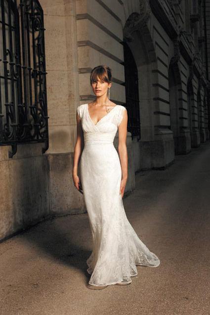 Robe Cymbeline modèle Eleonor, et son jupon pas cher- Occasion du Mariage