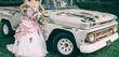 Robe de mariée rose et blanche Annie Couture - Occasion du Mariage