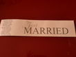 plaque just married - Occasion du Mariage