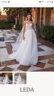 Robe de mariee évasée dos nu - Occasion du Mariage
