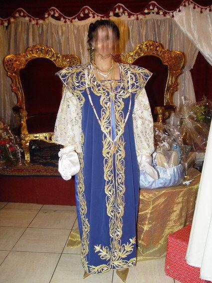 Robe de mariée traditionnelle constantinoise fabrication artisanale - Occasion du Mariage