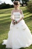 Robe de mariée bustier Complicité Emilie des Près modèle Pivoine
