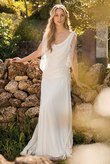 robe Capucine Rembo Styling T38/40 • dentelle vintage boheme - Occasion du Mariage