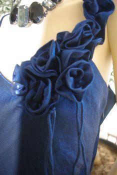 Robe de soirée bleue pas cher en Alsace 2012 - Occasion du mariage