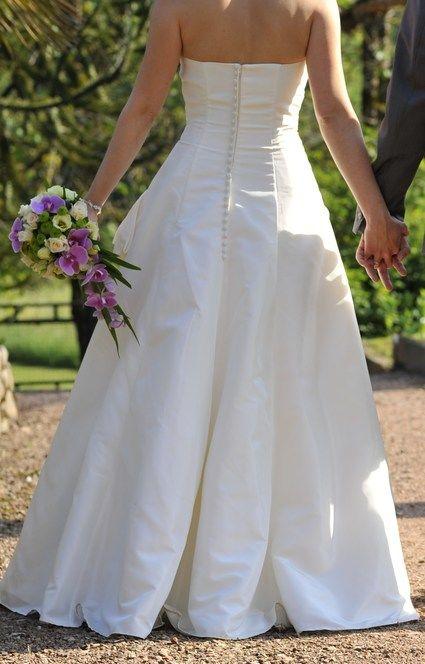 Robe Mariée d'occasion Emy Lee modèle Camelia couleur ivoire T38