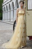 Robe de mariée dorée/ fiancailles /soirée - Occasion du Mariage