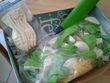 Ballon vert et ivoire mariés - Occasion du Mariage