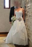 Robe de mariée Linéa Raffaelli collection 2012 en soie sauvage