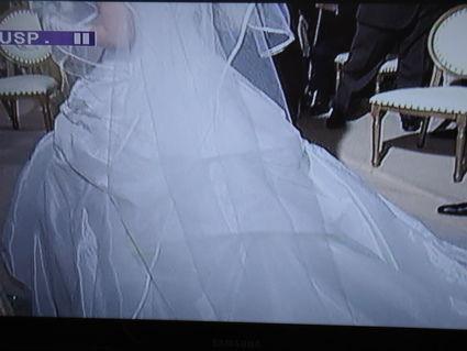 Robe de mariée Hervé mariage pas cher Paris 2012 - Occasion du Mariage